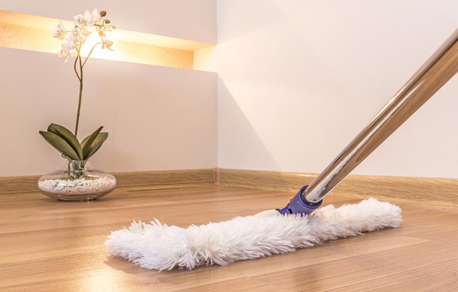 Vloeren schoonmaken